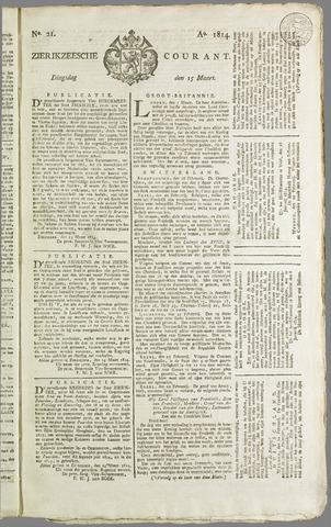 Zierikzeesche Courant 1814-03-15