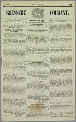 Goessche Courant 1862-04-14