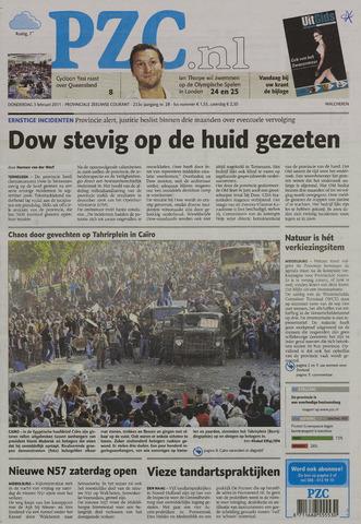 Provinciale Zeeuwse Courant 2011-02-03