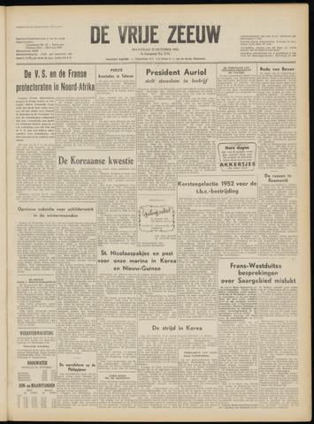 de Vrije Zeeuw 1952-10-27