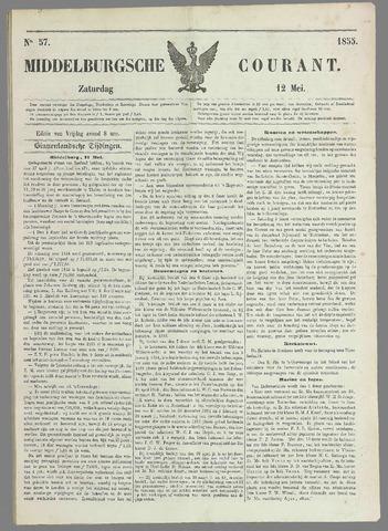 Middelburgsche Courant 1855-05-12