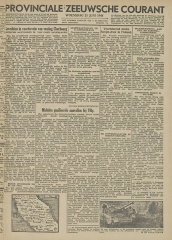 Provinciale Zeeuwse Courant 1944-06-21