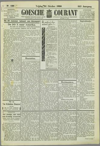 Goessche Courant 1930-10-31