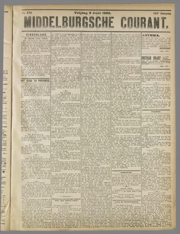 Middelburgsche Courant 1922-06-09