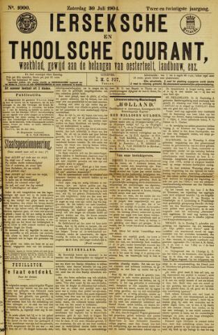 Ierseksche en Thoolsche Courant 1904-07-30