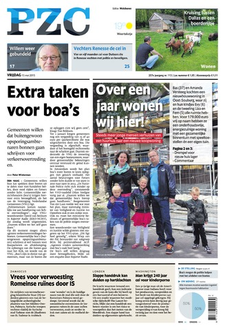 Provinciale Zeeuwse Courant 2015-05-15