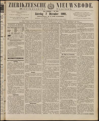 Zierikzeesche Nieuwsbode 1901-12-07