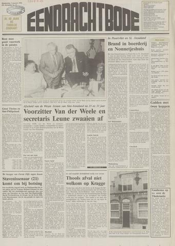 Eendrachtbode (1945-heden)/Mededeelingenblad voor het eiland Tholen (1944/45) 1991