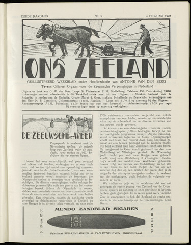 Ons Zeeland / Zeeuwsche editie 1928-02-04