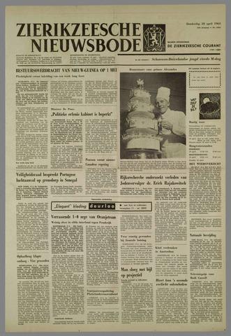 Zierikzeesche Nieuwsbode 1963-04-18
