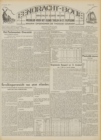 Eendrachtbode (1945-heden)/Mededeelingenblad voor het eiland Tholen (1944/45) 1953
