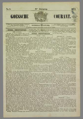 Goessche Courant 1854-01-26