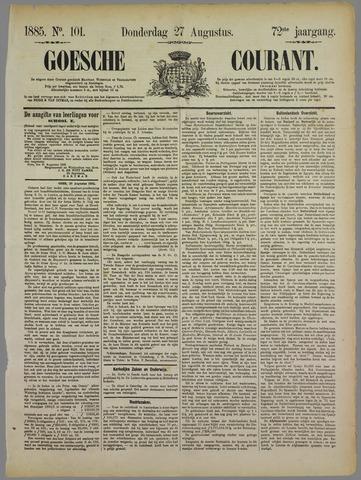 Goessche Courant 1885-08-27