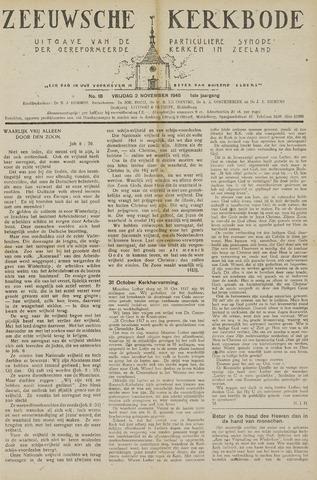 Zeeuwsche kerkbode, weekblad gewijd aan de belangen der gereformeerde kerken/ Zeeuwsch kerkblad 1945-11-02
