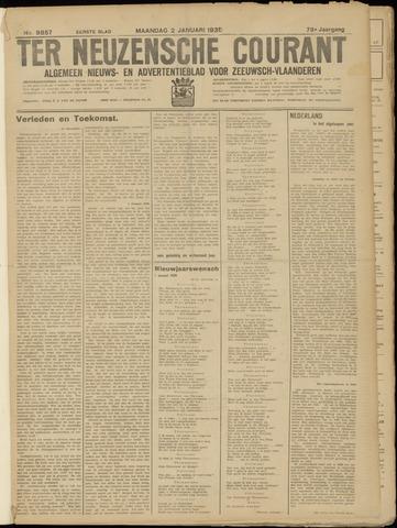 Ter Neuzensche Courant. Algemeen Nieuws- en Advertentieblad voor Zeeuwsch-Vlaanderen / Neuzensche Courant ... (idem) / (Algemeen) nieuws en advertentieblad voor Zeeuwsch-Vlaanderen 1939-01-02