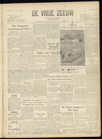 de Vrije Zeeuw 1956-11-28