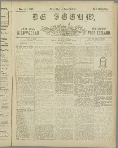 De Zeeuw. Christelijk-historisch nieuwsblad voor Zeeland 1901-12-21
