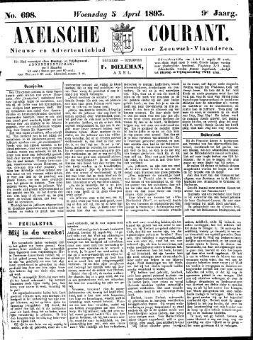Axelsche Courant 1893-04-05