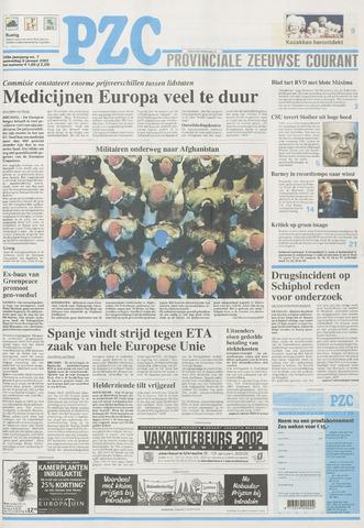Provinciale Zeeuwse Courant 2002-01-09