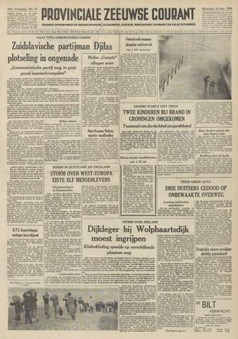 Provinciale Zeeuwse Courant 1954-01-18