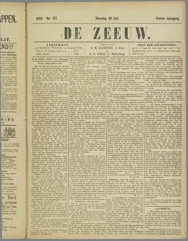De Zeeuw. Christelijk-historisch nieuwsblad voor Zeeland 1890-07-29