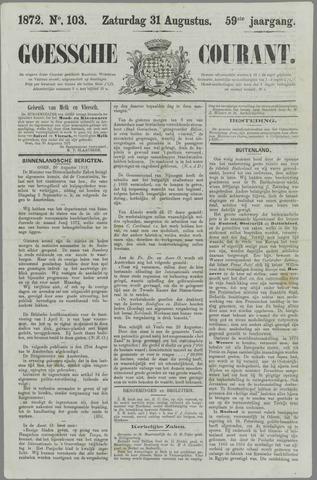 Goessche Courant 1872-08-31