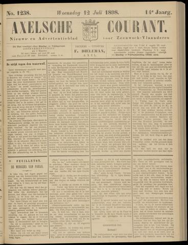 Axelsche Courant 1898-07-13
