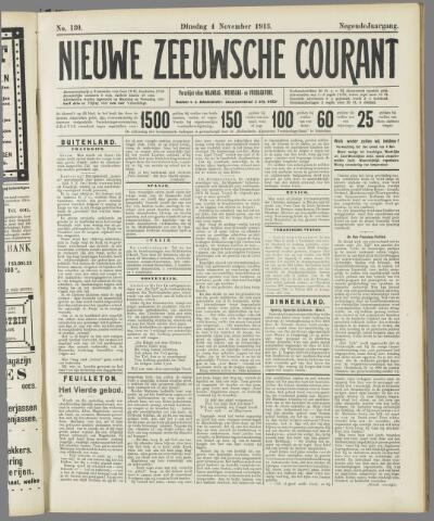 Nieuwe Zeeuwsche Courant 1913-11-04