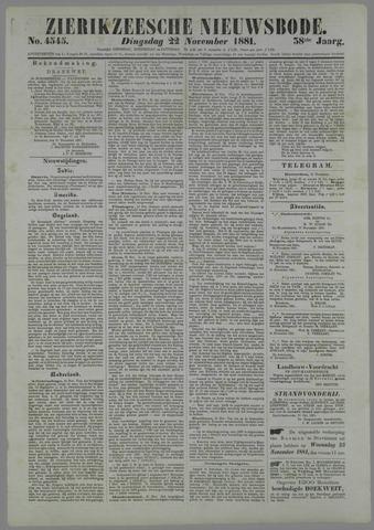 Zierikzeesche Nieuwsbode 1881-11-22