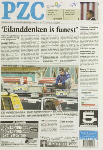 Provinciale Zeeuwse Courant 2008-01-05