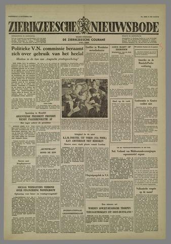 Zierikzeesche Nieuwsbode 1958-11-13