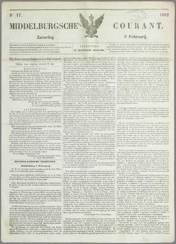 Middelburgsche Courant 1862-02-08