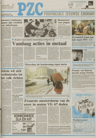 Provinciale Zeeuwse Courant 1993-03-15