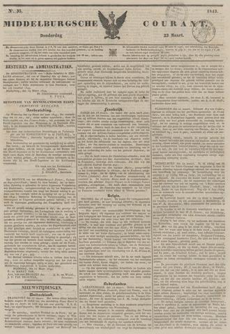 Middelburgsche Courant 1843-03-23