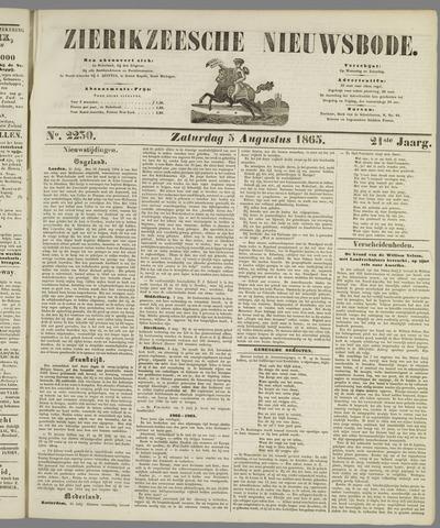 Zierikzeesche Nieuwsbode 1865-08-05