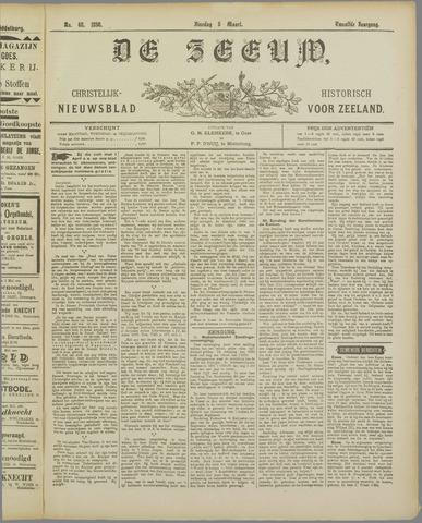 De Zeeuw. Christelijk-historisch nieuwsblad voor Zeeland 1898-03-08