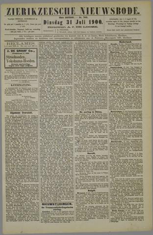 Zierikzeesche Nieuwsbode 1900-08-31