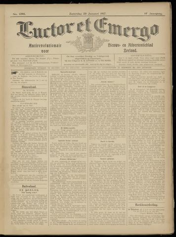 Luctor et Emergo. Antirevolutionair nieuws- en advertentieblad voor Zeeland / Zeeuwsch-Vlaanderen. Orgaan ter verspreiding van de christelijke beginselen in Zeeuwsch-Vlaanderen 1917-01-20