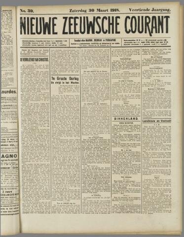 Nieuwe Zeeuwsche Courant 1918-03-30