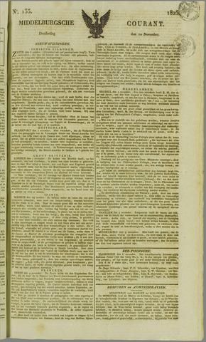 Middelburgsche Courant 1825-11-10