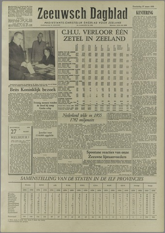 Zeeuwsch Dagblad 1958-03-27