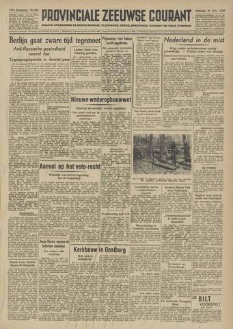 Provinciale Zeeuwse Courant 1948-11-30