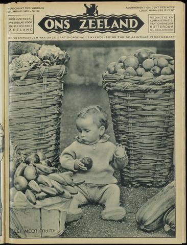 Ons Zeeland / Zeeuwsche editie 1932-01-22