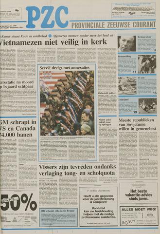 Provinciale Zeeuwse Courant 1991-12-19