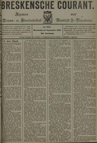 Breskensche Courant 1913-09-10