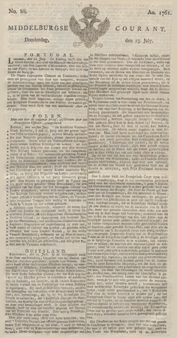 Middelburgsche Courant 1761-07-23
