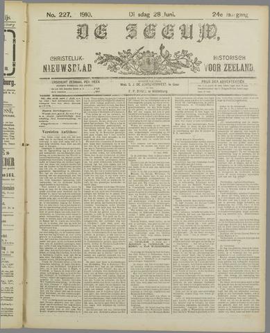 De Zeeuw. Christelijk-historisch nieuwsblad voor Zeeland 1910-06-28