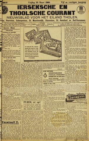 Ierseksche en Thoolsche Courant 1928-03-23