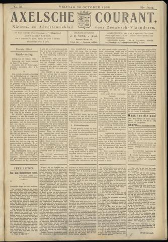 Axelsche Courant 1936-10-30