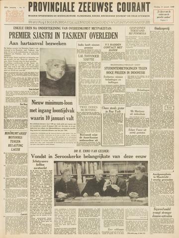 Provinciale Zeeuwse Courant 1966-01-11